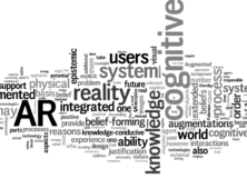 Augmented Skepticism: The Epistemological Design of Augmented Reality